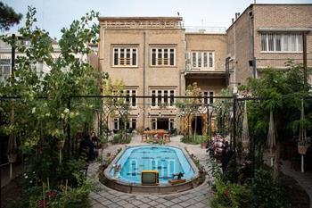 Baccare Cafe de Tahran
