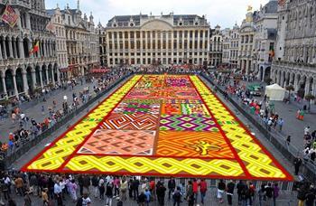 Brüksel Çiçek Halı Festivali