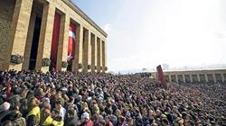 Büyük Ata'ya Saygı Anıtkabir Yürüyüşü