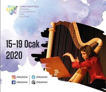 Ceren Necipoğlu İstanbul Uluslararası Arp Festivali