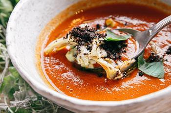 Gazpacho Çorbası