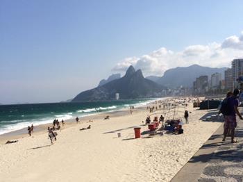 Ipanema ve Copacapana Plajları