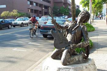 Jimi Hendrix Heykeli