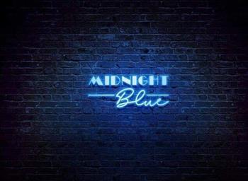 Midnight blue discotheque