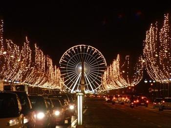 Paris'te Noel