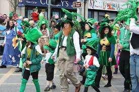 Raleigh St. Patrick Günü Geçit Töreni ve Yıpranmış Yeşil Festival