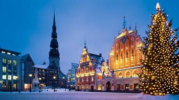 Riga'da Noel