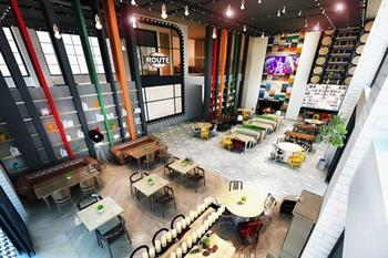 Route Restoran Cafe