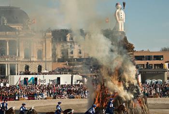 Sechseläuten - Geleneksel Bahar Festivali