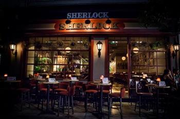 Sherlock Speak Easy Bar