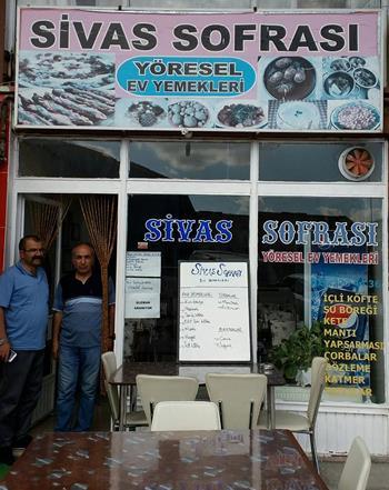 Sivas Sofrası Yöresel Ev Yemekleri