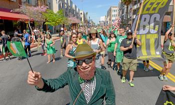 St.Patrick Günü Festivali