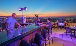 The VÜE Rooftop Bar & Lounge at the Claridge