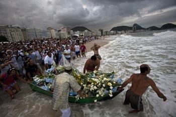 Umbanda-Deniz Tanrıçası Festivali