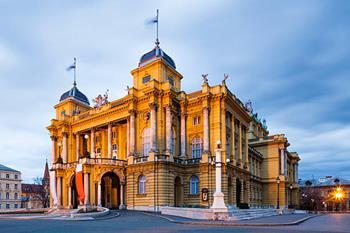Zagreb Hırvatistan Ulusal Tiyatrosu